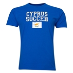Cyprus Soccer T-Shirt (Royal)