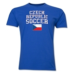 Czech Republic Soccer T-Shirt (Royal)