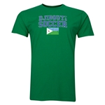 Djibouti Football T-Shirt (Green)