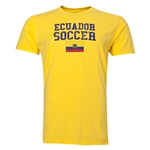 Ecuador Soccer T-Shirt (Yellow)