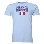 France Soccer T-Shirt (Sky)