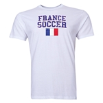 France Soccer T-Shirt (White)