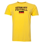 Germany Football T-Shirt (Yellow)