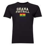 Ghana Football T-Shirt (Black)