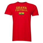 Ghana Football T-Shirt (Red)