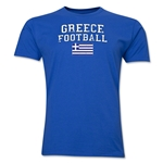 Greece Football T-Shirt (Royal)