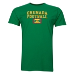 Grenada Football T-Shirt (Green)