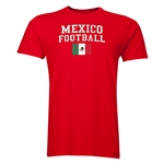 Mexico Football T-Shirt (Red)