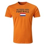 Netherlands Football T-Shirt (Orange)