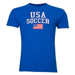 USA Soccer T-Shirt (Royal)
