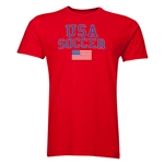 USA Soccer T-Shirt (Red)