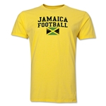 Jamaica Football T-Shirt (Yellow)