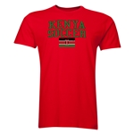 Kenya Soccer T-Shirt (Red)