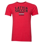 Latvia Soccer T-Shirt (Red)