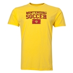 Montenegro Soccer T-Shirt (Yellow)