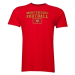 Montenegro Football T-Shirt (Red)