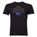 New Zealand Soccer T-Shirt (Black)