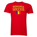 Romania Soccer T-Shirt (Red)