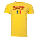 Romania Football T-Shirt (Yellow)