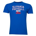 Slovakia Football T-Shirt (Royal)