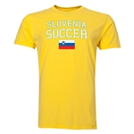 Slovenia Soccer T-Shirt (Yellow)
