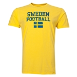 Sweden Football T-Shirt (Yellow)