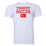 Turkey Soccer T-Shirt (White)