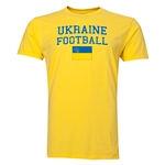 Ukraine Football T-Shirt (Yellow)