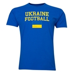 Ukraine Football T-Shirt (Royal)