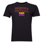 Venezuela Football T-Shirt (Black)