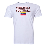 Venezuela Football T-Shirt (White)