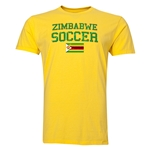 Zimbabwe Soccer T-Shirt (Yellow)