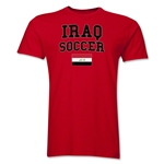 Iraq Soccer T-Shirt (Red)