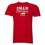 Oman Football T-Shirt (Red)