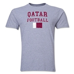 Qatar Football T-Shirt (Grey)