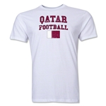 Qatar Football T-Shirt (White)