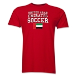 United Arab Emirates Soccer T-Shirt (Red)