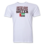 United Arab Emirates Soccer T-Shirt (White)