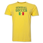 Senegal Soccer T-Shirt (Yellow)