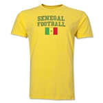 Senegal Football T-Shirt (Yellow)
