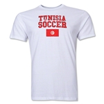 Tunisia Soccer T-Shirt (White)