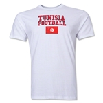 Tunisia Football T-Shirt (White)