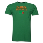 Zambia Football T-Shirt (Green)