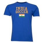 India Soccer T-Shirt (Royal)