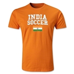 India Soccer T-Shirt (Orange)