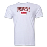 Indonesia Football T-Shirt (White)