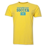 Kazakhstan Soccer T-Shirt (Yellow)