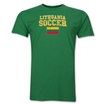 Lithuania Soccer T-Shirt (Green)