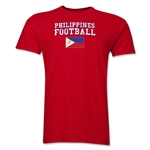 Philippines Football T-Shirt (Red)