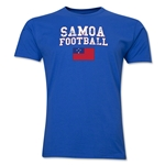 Samoa Football T-Shirt (Royal)
